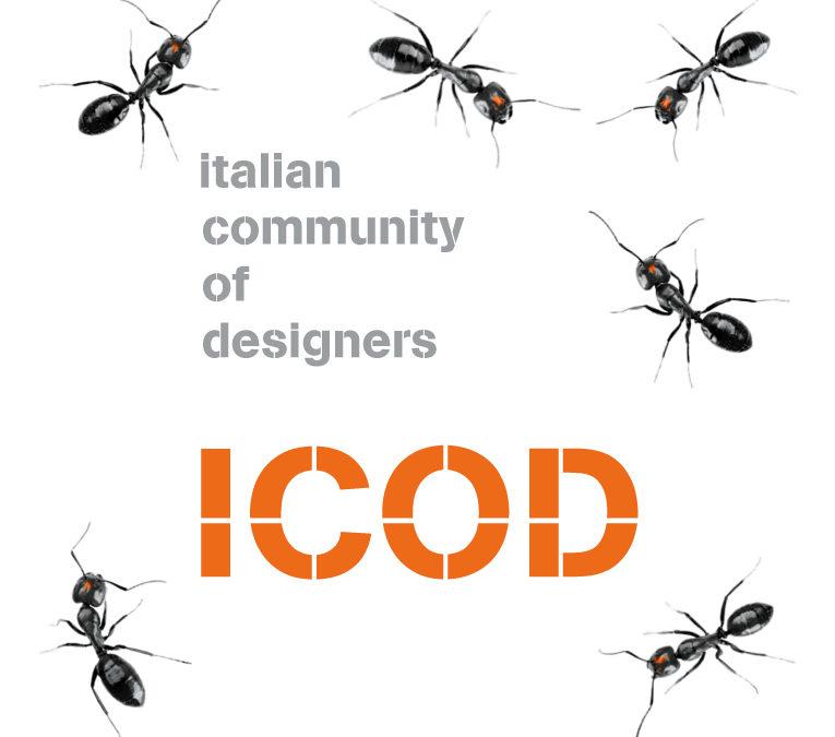 ICOD italian community of designers (Graphic project)
