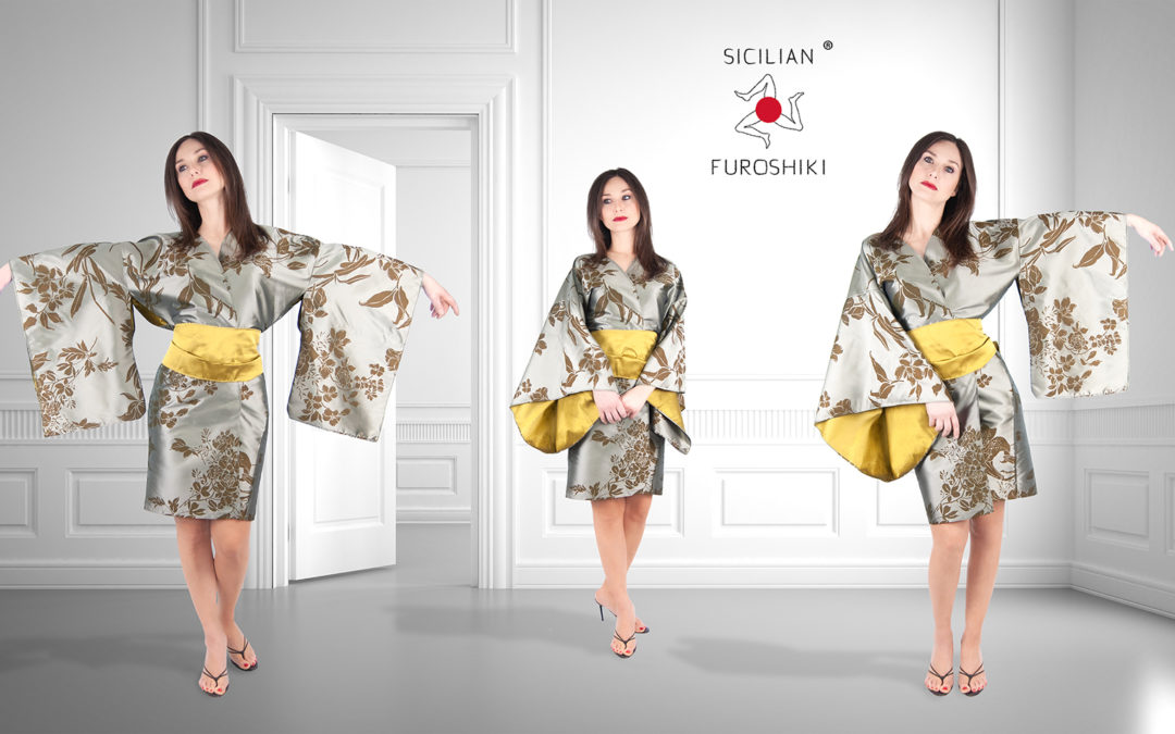 Sicilian Furoshiki KIMONO (Advertising campaign. Photography, post production, art direction)