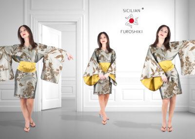 Sicilian Furoshiki KIMONO (Advertising campaign. Photography, post production, art direction)